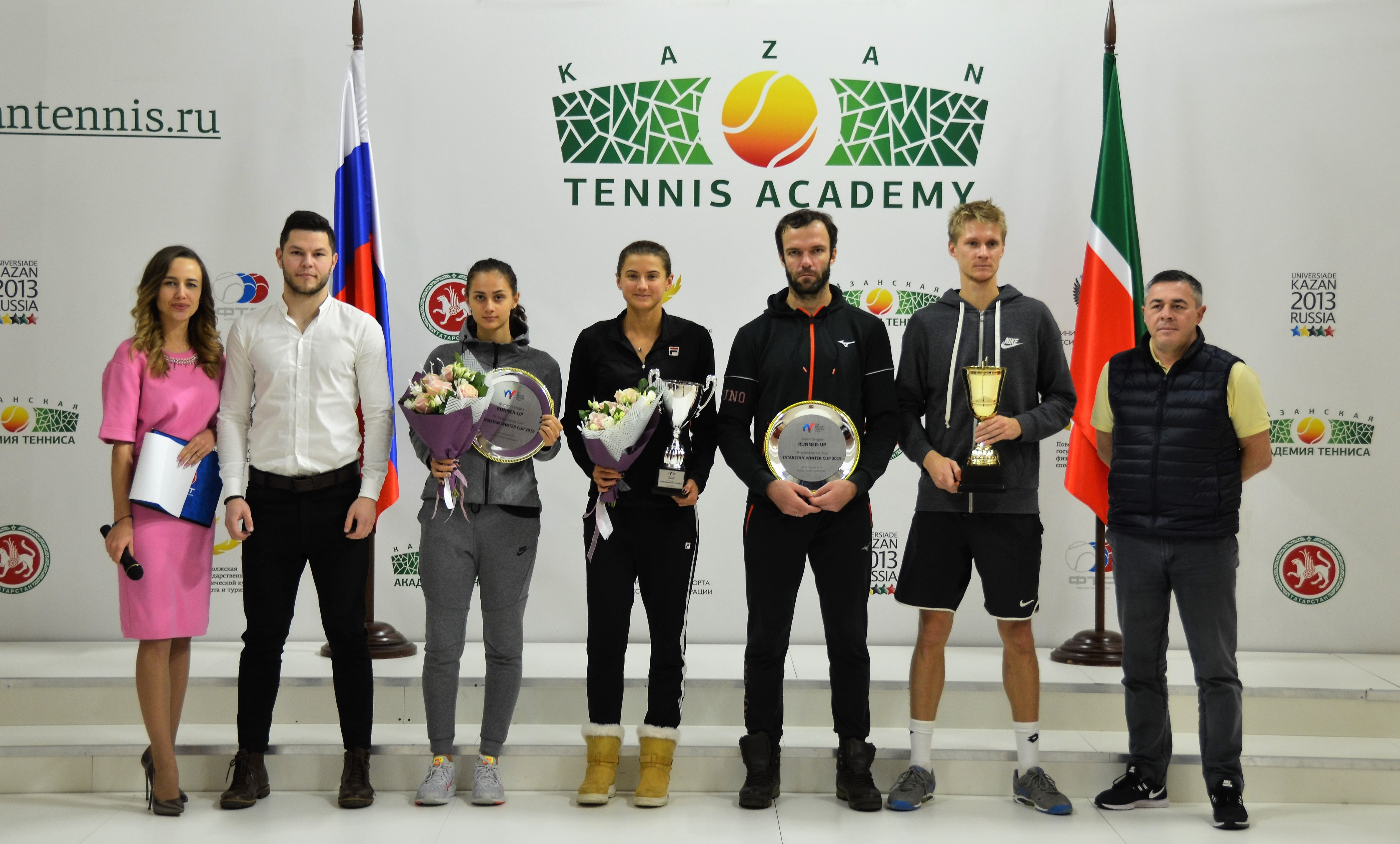 «Золото» ITF World Tennis Tour Tatarstan Winter Cup 25 000$ 2019 у России и Узбекистана!